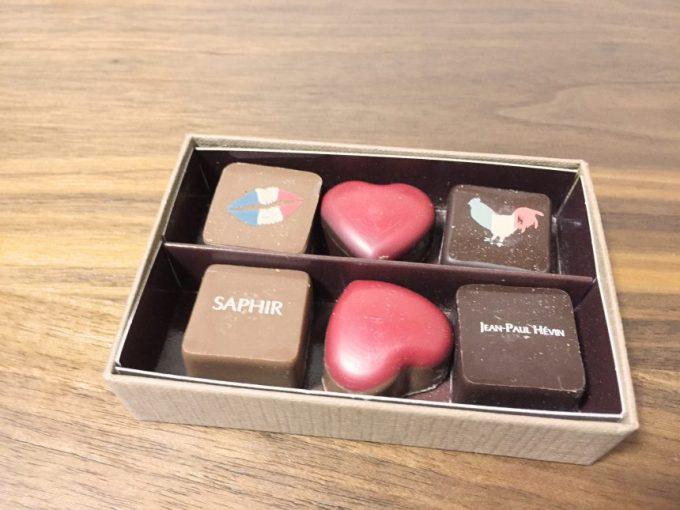 ジャンポールエヴァンのかわいらしいチョコレート