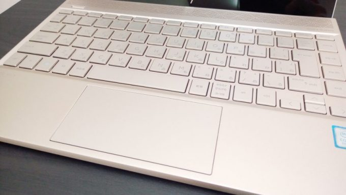 wnvy13のキーボードアップ