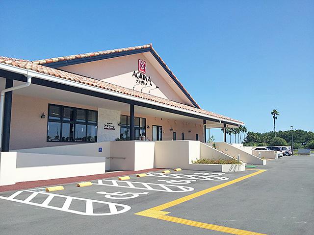 ミヤチクの豚肉専門店AGRINA(アグリーナ)店舗外観