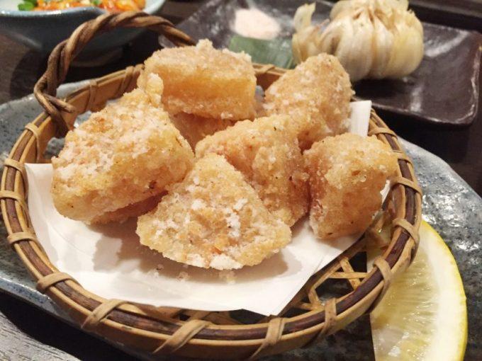黒木屋の大根煮の天ぷら