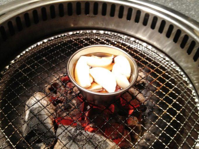 にんにくオイル焼き