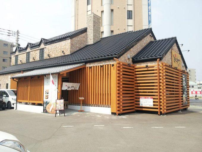 とんかつ「らくい」宮崎駅前店の店舗外観