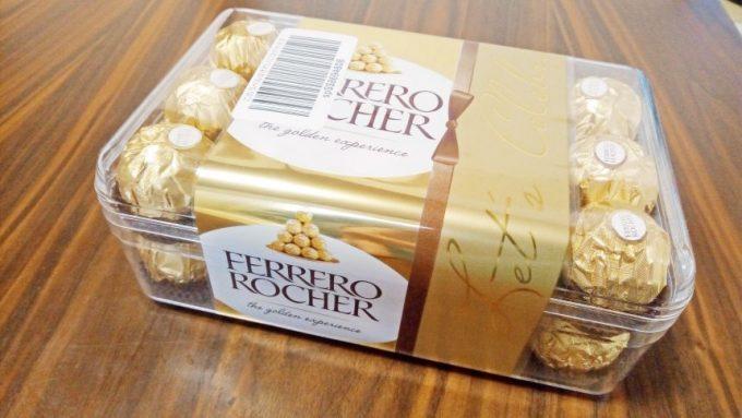 フェレロロシェ30個入り(プラスチックケース)