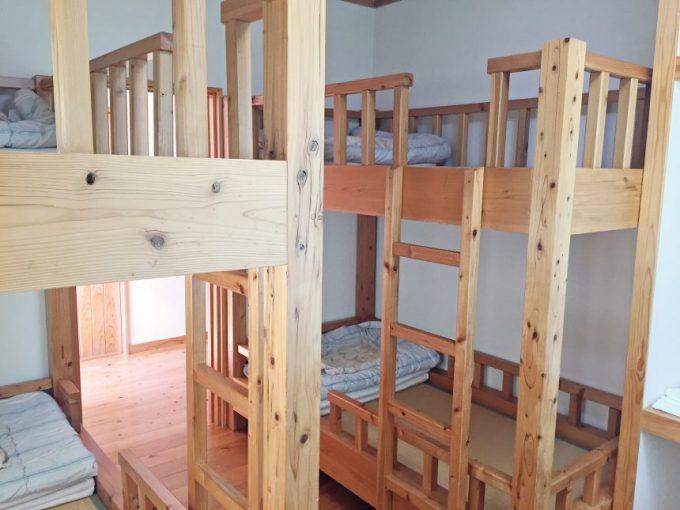 二段ベッドのはしご