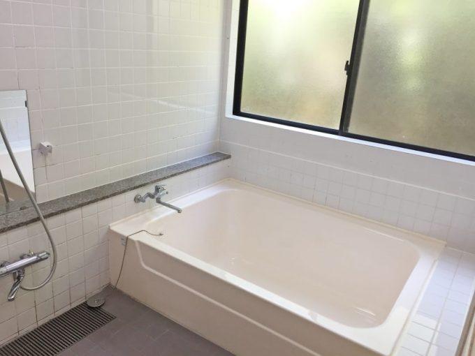 ドでかい浴槽