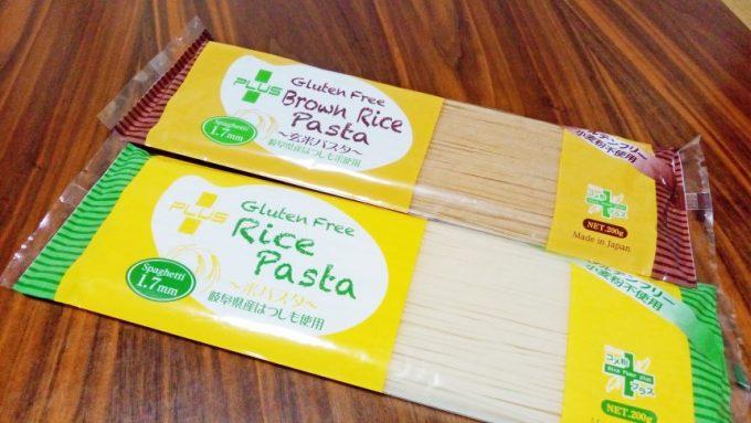 Rice PastaとBrown Rice Pasta