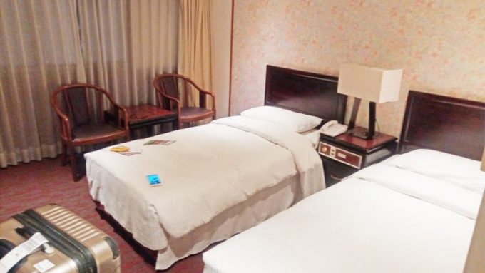 レオフーホテル(六福客棧)の室内