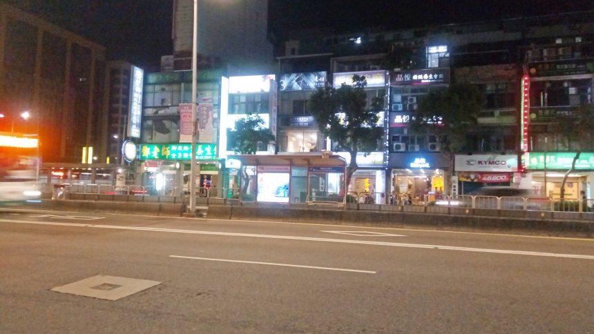 台北の街並み(夜)