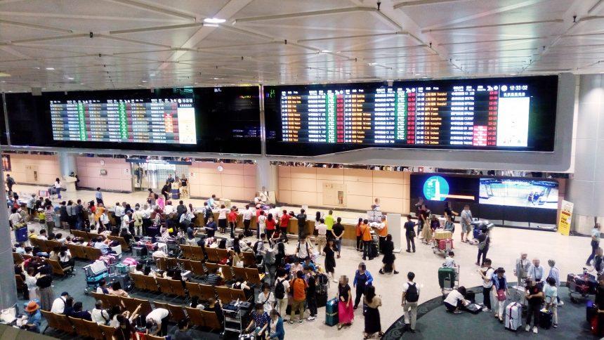 桃園空港ターミナル