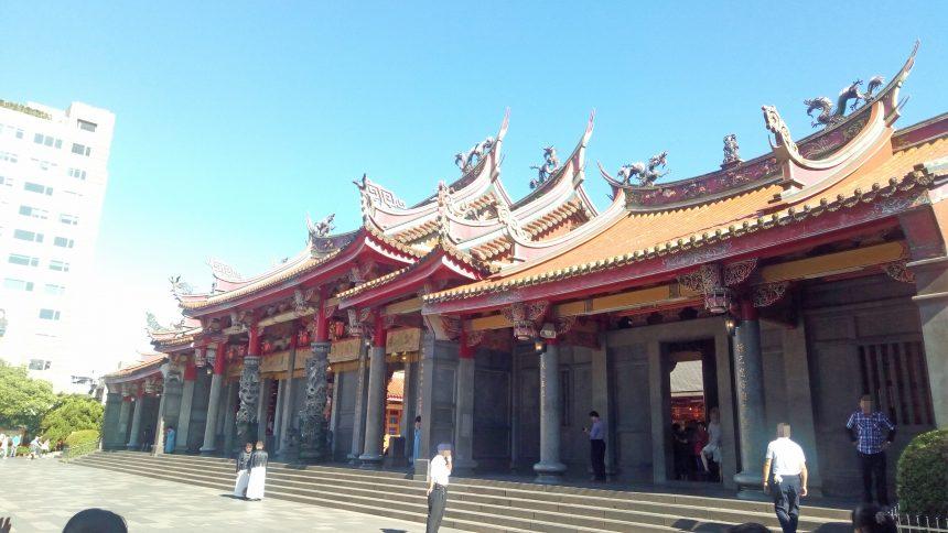 行天宮の建物