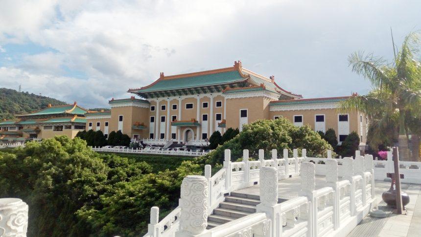 故宮博物院の横の建物