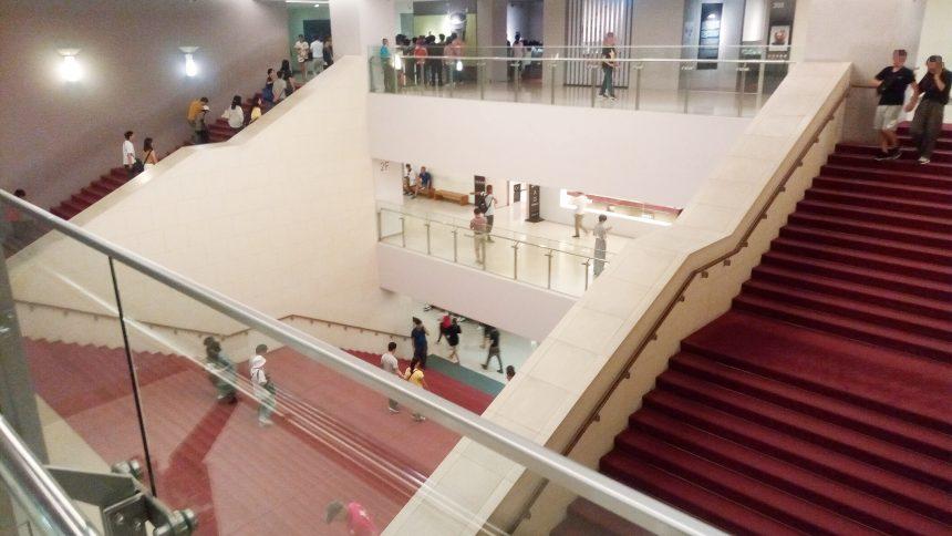 故宮博物院内の階段