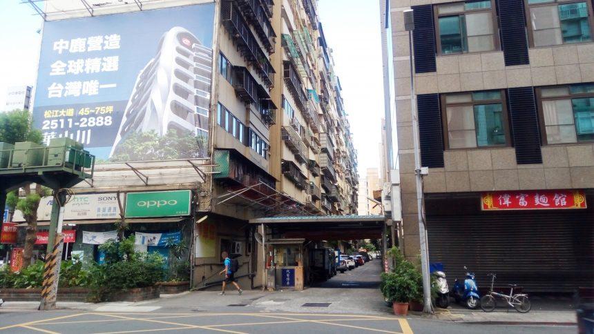台湾のビル