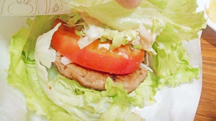 モスバーガー菜摘のアップ